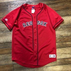 David Ortiz Boston Red Sox Majestic MLB Jersey XL